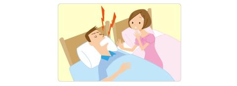 『少しくらい無呼吸でも大丈夫』なんて考えてませんか?睡眠時無呼吸症候群(SAS)は様々な症状の原因になります。